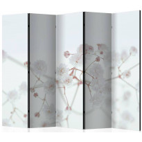 Sermi Artgeist White Flowers II, 225x172cm