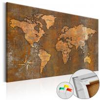 Korkkitaulu Artgeist Rusty World, eri kokoja