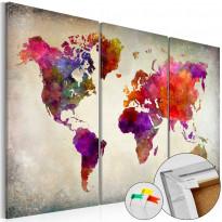 Korkkitaulu Artgeist Mosaic of Colours, eri kokoja