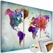 Korkkitaulu Artgeist World in Colors, eri kokoja
