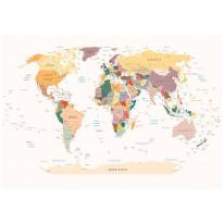 Kuvatapetti Artgeist World Map, eri kokoja
