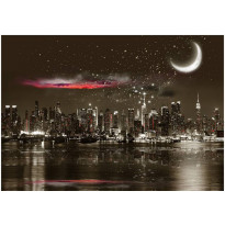 Kuvatapetti Artgeist Starry Night Over NY, eri kokoja