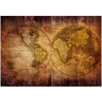 Kuvatapetti Artgeist World on old map, eri kokoja