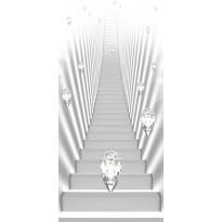 Ovitapetti Artgeist White stairs and jewels I, eri kokoja
