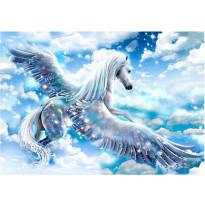 Sisustustarra Artgeist Blue Pegasus, eri kokoja