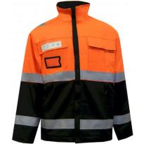 Talvitakki Atex Hi-Vis AFAS 4849, oranssi/musta