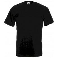 T-paita Atex 7207, O-aukkoinen, musta