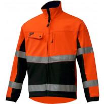 Softshell takki Atex 7609, Hi-Vis oranssi/musta