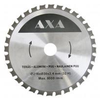 Yleisterä AXA, Ø 190x30x2,0mm, Z32