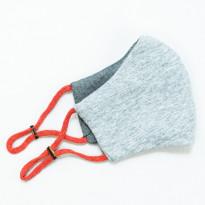 Kangasmaski Leon, harmaa/pinkki + filtterit 3kpl