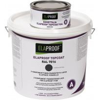 TopCoat pintalakka ElaProof 3,375 kg (A+B), Anthracite Grey