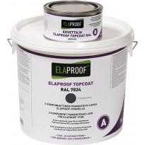 TopCoat pintalakka ElaProof 3,375 kg (A+B), Graphite Grey