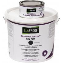 TopCoat pintalakka ElaProof 3,375 kg (A+B), Graphite Black