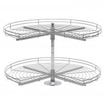 Kulmakaruselli Beslag Design Nova ¾, 820mm, teräs