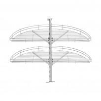 Kulmakaruselli Beslag Design Fina ½, 820mm, teräs