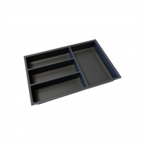Aterinlaatikko Beslag Design Sky, eri kokoja, harmaa