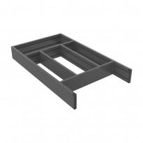 Aterinlaatikko Beslag Design Flex Basic, 278x473/523mm, harmaa/valkoinen