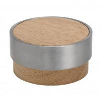 Nuppivedin Beslag Design Volym, Ø 48x25 mm, tammi
