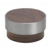 Nuppivedin Beslag Design Volym, Ø 48x25 mm, pähkinä