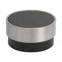 Nuppivedin Beslag Design Volym, Ø 48x25 mm, musta
