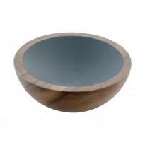 Nuppivedin Beslag Design Wok, Ø 50x20 mm, pähkinä + tumm,anharmaa