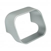 Vedin Beslag Design Slice, 70x50x39 mm, cc 64 mm, alumiini