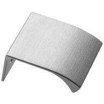 Profiilivedin Beslag Design Cliff Open, 40x41x18 mm, ruostumaton teräs