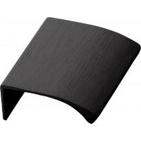 Profiilivedin Beslag Design Edge Straight, 40x18x41mm, musta