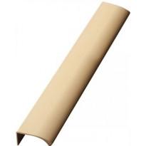 Profiilivedin Beslag Design Edge Straight, 350 mm, harjattu messinki
