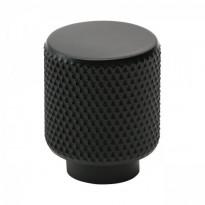 Nuppivedin Beslag Design Helix, Ø20x25mm, mattamusta