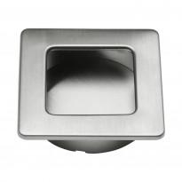 Upotettava vedin Beslag Design 560-50, 50x50x13 mm, ruostumaton teräs