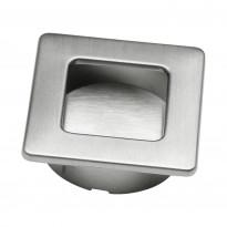 Upotettava vedin Beslag Design 561-39, 39x39x13 mm, ruostumaton teräs