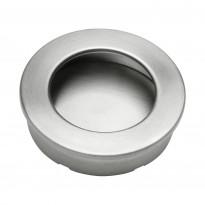 Upotettava vedin Beslag Design 510-49, Ø 49x13 mm, ruostumaton teräs