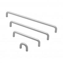 Lankavedin Beslag Design SS-A, 138x10x35 mm, cc 128 mm, ruostumaton teräs