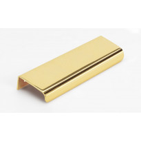 Profiilivedin Beslag Design Lip, 120x12x39mm, kiillotettu messinki