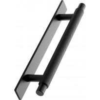 Lankavedin Beslag Design Manor aluslevyllä, 128mm, musta