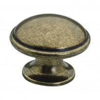 Nuppivedin Beslag Design 2918, Ø 36x27 mm, oksidi