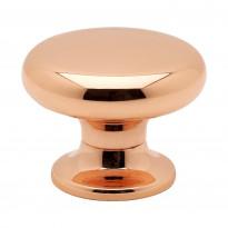 Nuppivedin Beslag Design 8702, Ø 30x23 mm, kupari