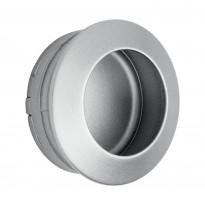 Upotettava vedin Beslag Design 5008, Ø 40x17 mm, alumiini
