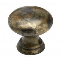 Nuppivedin Beslag Design 411, Ø 17x15 mm, antiikki