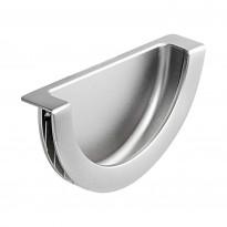 Upotettava vedin Beslag Design Demi, 80x46x17 mm, cc mm, ruostumaton teräs