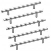 Lankavedinsetti Beslag Design VS-C, 5 kpl, 192x12x35 mm, cc 128 mm, ruostumaton teräs