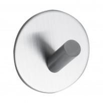 Pyyhekoukku Beslag Design Base 100, 1-osainen, harjattu teräs, tarrakiinnitteinen