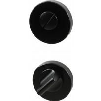 WC-vääntönuppi Beslag Design R, musta