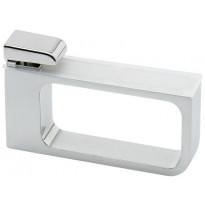 Hyllynkannatin Beslag Design 532, 2 kpl, kromi