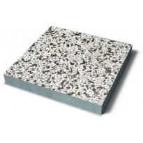 Pesubetonilaatta Benders 400x400x50 mm, mustavalkoinen marmori