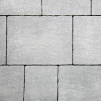 Pihakivi Benders Orlando Antik 80 mm, lajitelma 4 kokoa, harmaa
