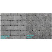 Pihakivi Benders Labyrint/Troja Antik Puolikivi 105x140x50 mm, grafiitti