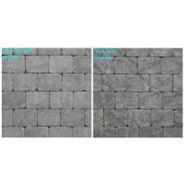 Pihakivi Benders Labyrint/Troja Antik Makro 210x210x50 mm, grafiitti