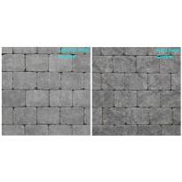 Pihakivi Benders Labyrint/Troja Antik Mikro 140x140x50 mm, grafiitti